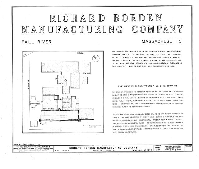 Richard Borden Manufacturing Company