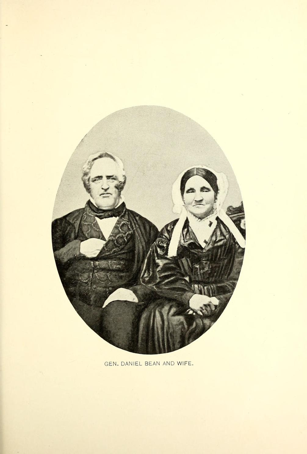 Gen. Daniel Bean and Wife