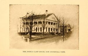Joshua Clapp House, now Stonewall Farm