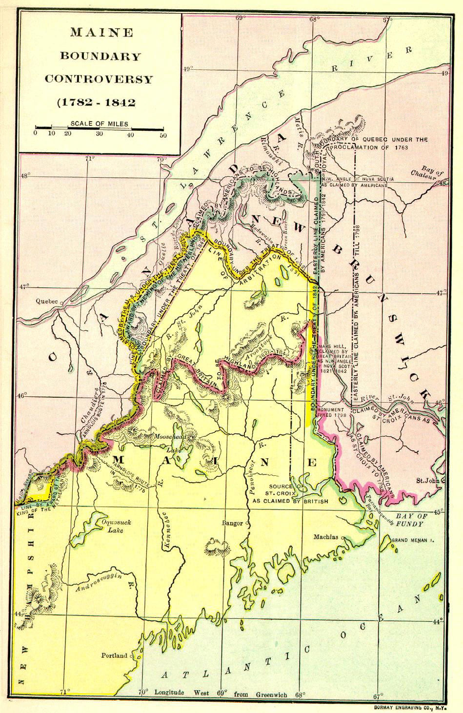 Maine Boundary Controversy