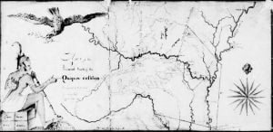 Quapaw Cession Map