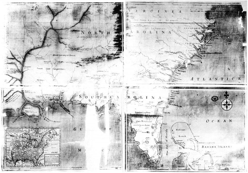 1715 John Beresford Map
