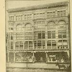 Bon Marche Building in Lowell Massachusetts