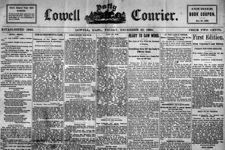 Lowell Daily Courier