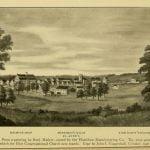 Merrimack Mills in 1825 in Lowell Massachusetts