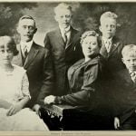 Petrus Peterson and Family