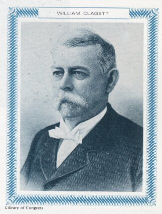 Biography of William H. Clagget 2