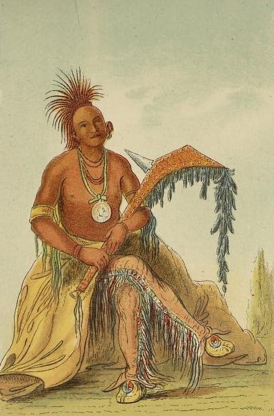Clermont, Osage Chief