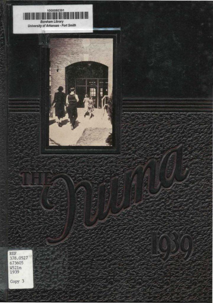1939 Fort Smith Junior College Yearbook