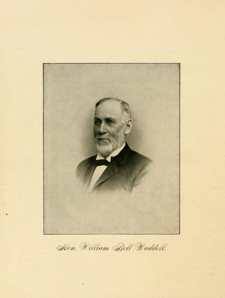 Hon. William Bell Waddell