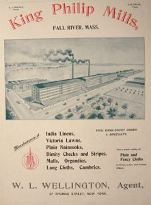 King Philip Mills ad from 1896.