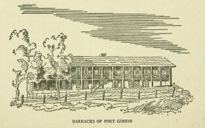 Barracks of Fort Gibson