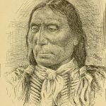 White-Man, head chief of the Kiowa Apache
