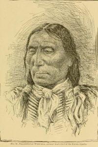 White-Man, head chief of the Kiowa Apache