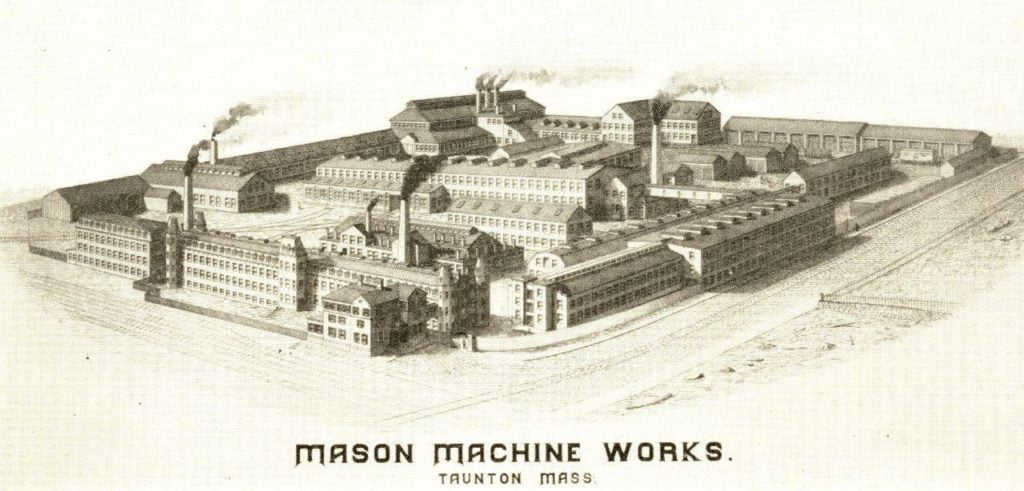 Mason Machine Works - Mason Machine Works, Taunton, Massachusetts, 1899 Catalog