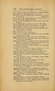 p. 102 of the 1877-8 Greenough's Directory of the City of New Bedford, Massachusetts