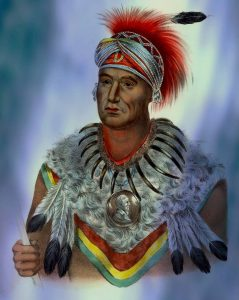 Wa-pel-la The Prince, A Musquakee Chief