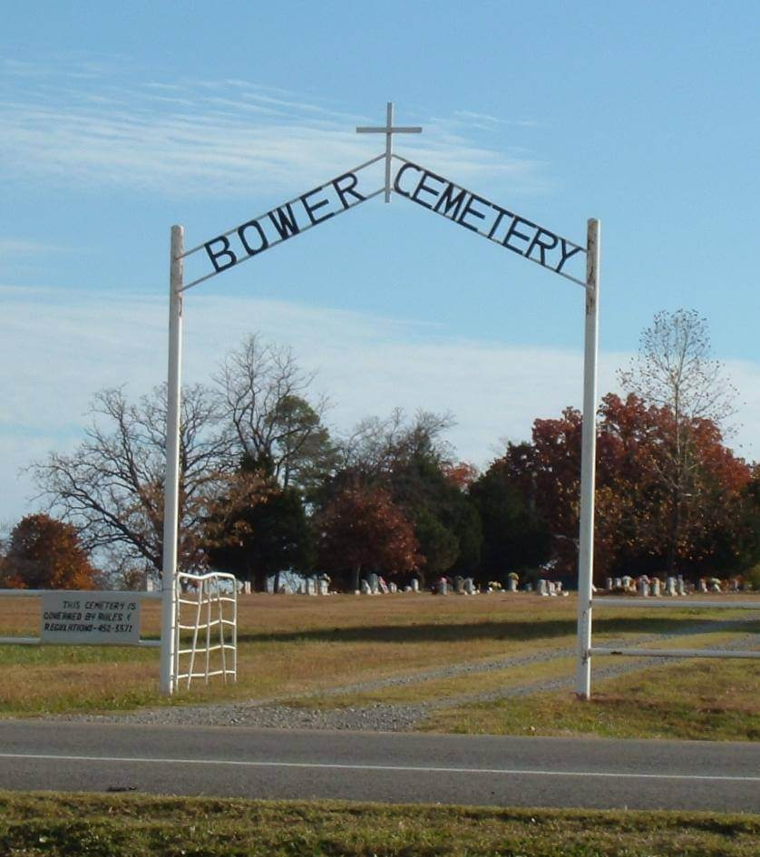 Bower Cemetery, Pittsburg County, Oklahoma