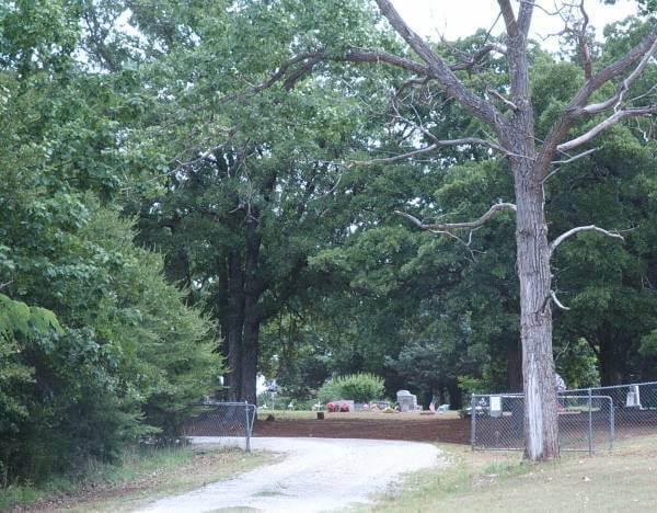 Brown Cemetery, Pontotoc County, OKlahoma
