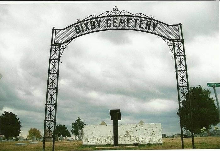 Bixby Cemetery - Tulsa County Oklahoma Cemeteries