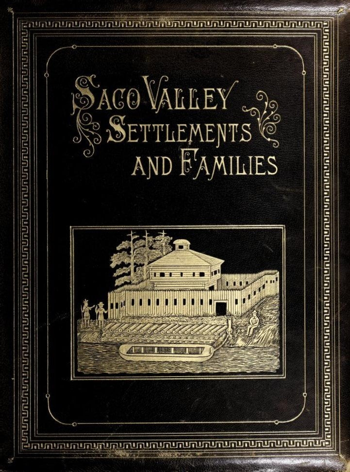 saco valley settlements and families cover