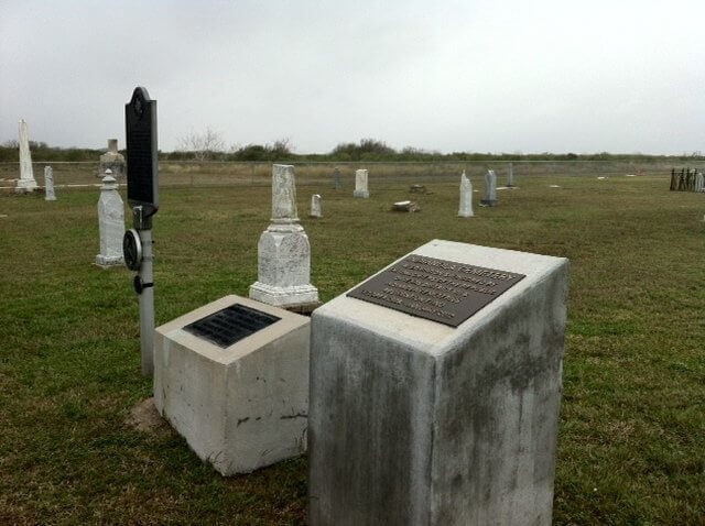 Indianola Cemetery Calhoun County Texas