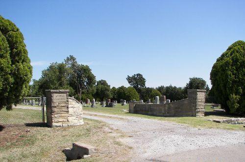 Braman Cemetery, Kay County, Oklahoma