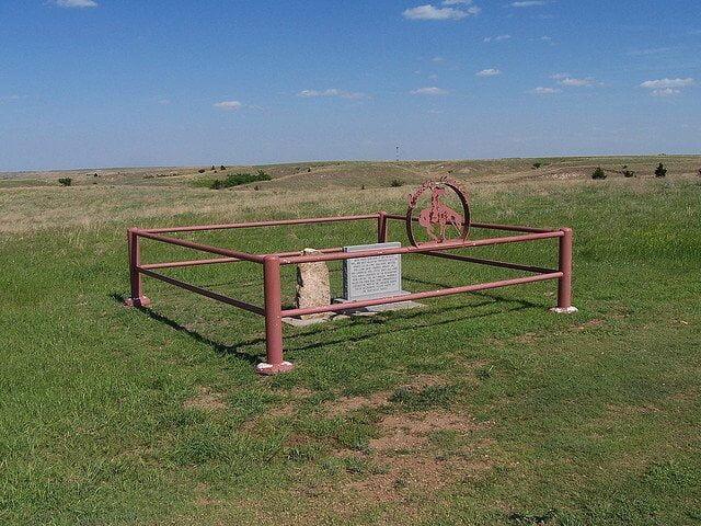 Cowboy Cemetery, Woods County, Oklahoma