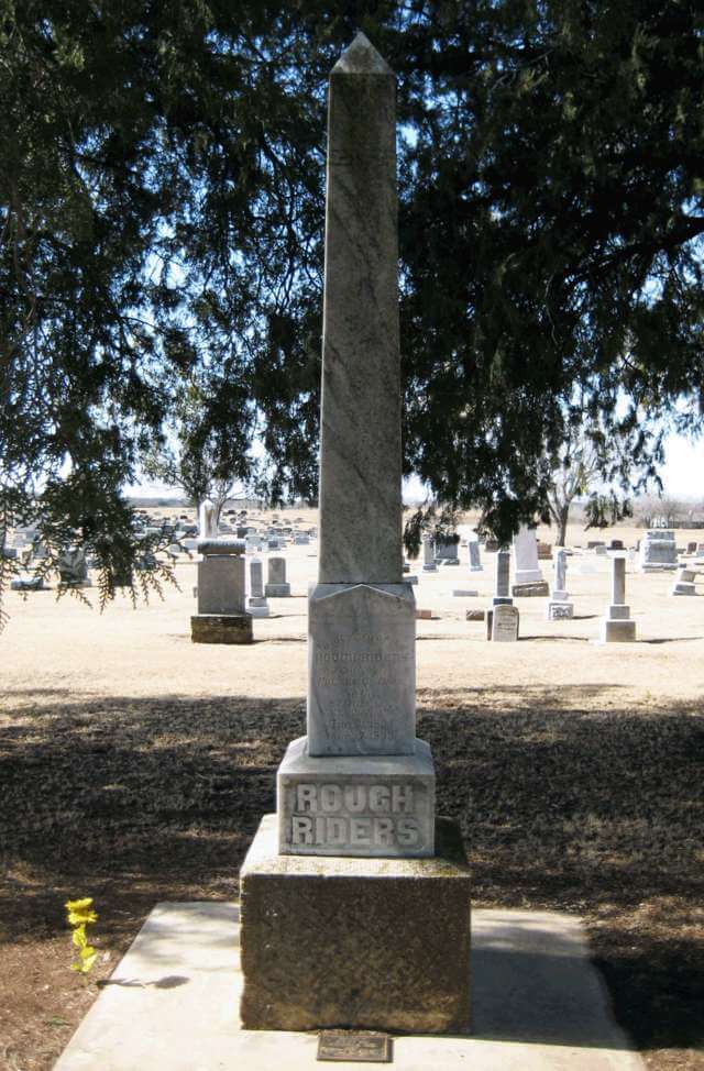 Rough Riders Monument, Woodward County, Oklahoma