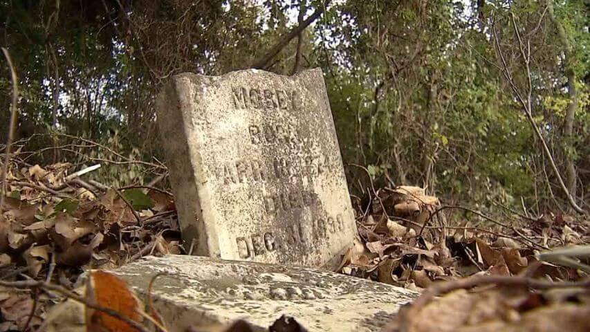 Rural Wagoner County Oklahoma Cemetery