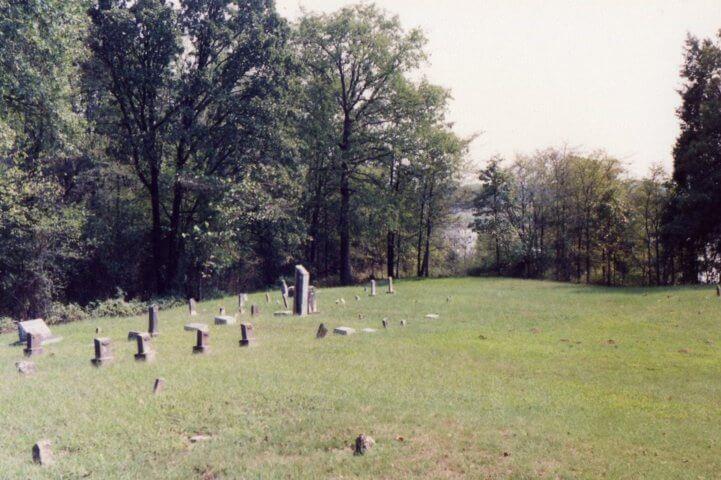 Wilson Rock Cemetery, Muldrow, Sequoyah County, Oklahoma