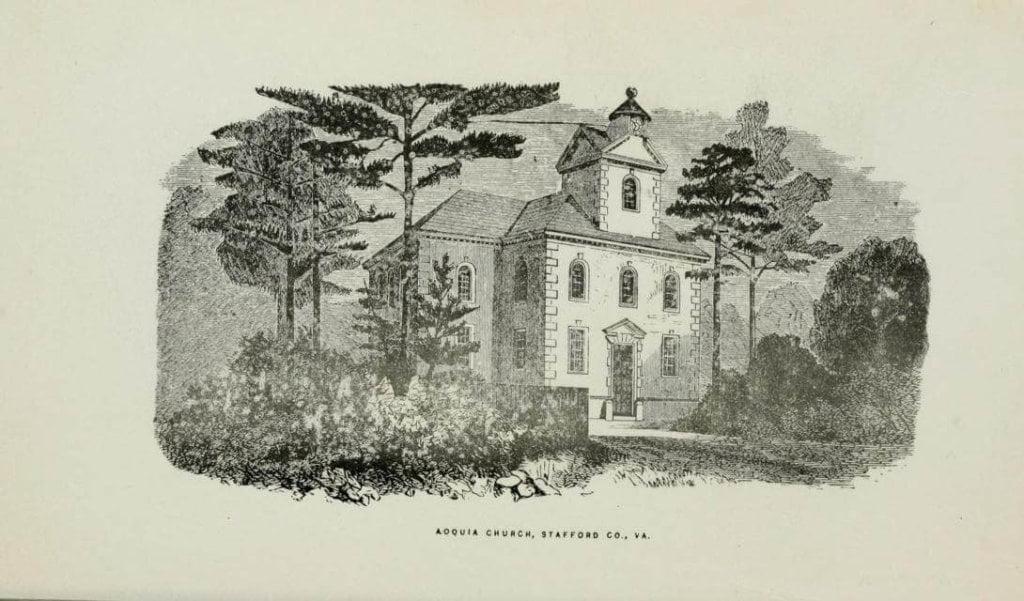 Aquia Church, Stafford County, Virginia