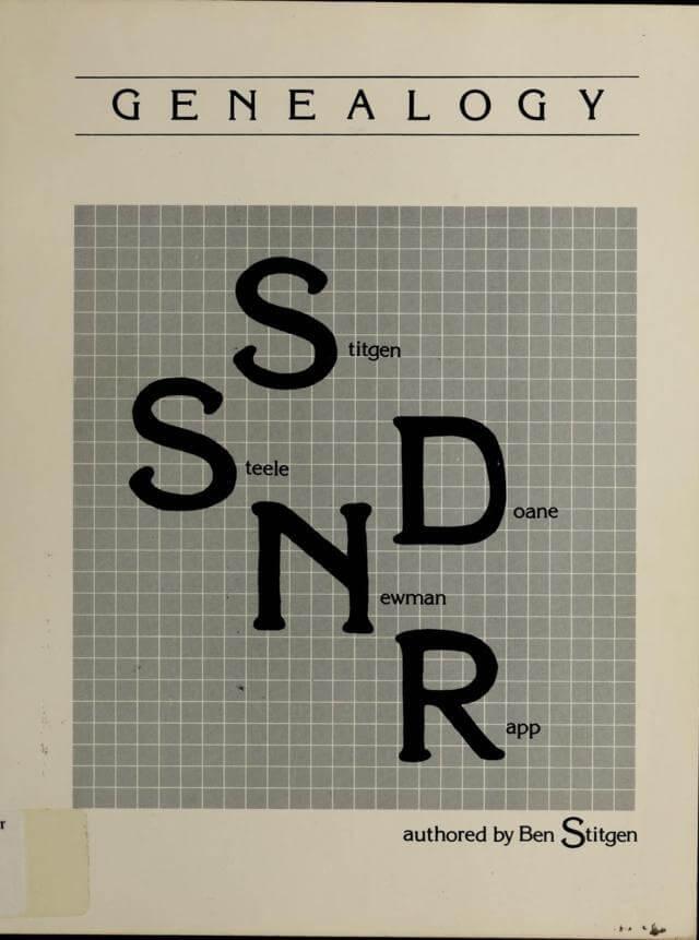 Genealogy: Stitgen, Steele, Doane, Newman, Rapp