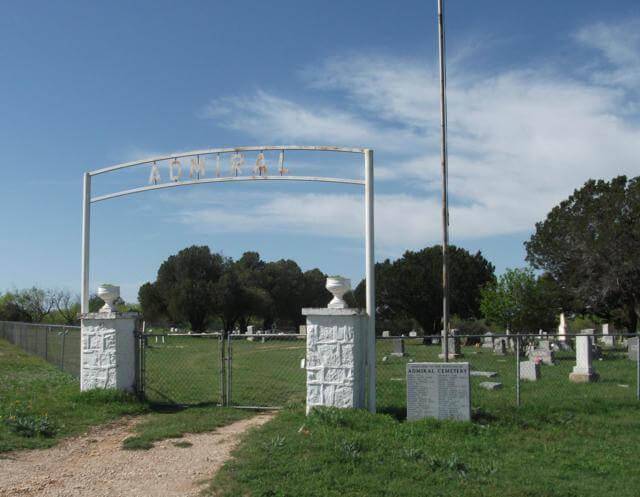 Admiral Cemetery, Admiral, Callahan County, Texas