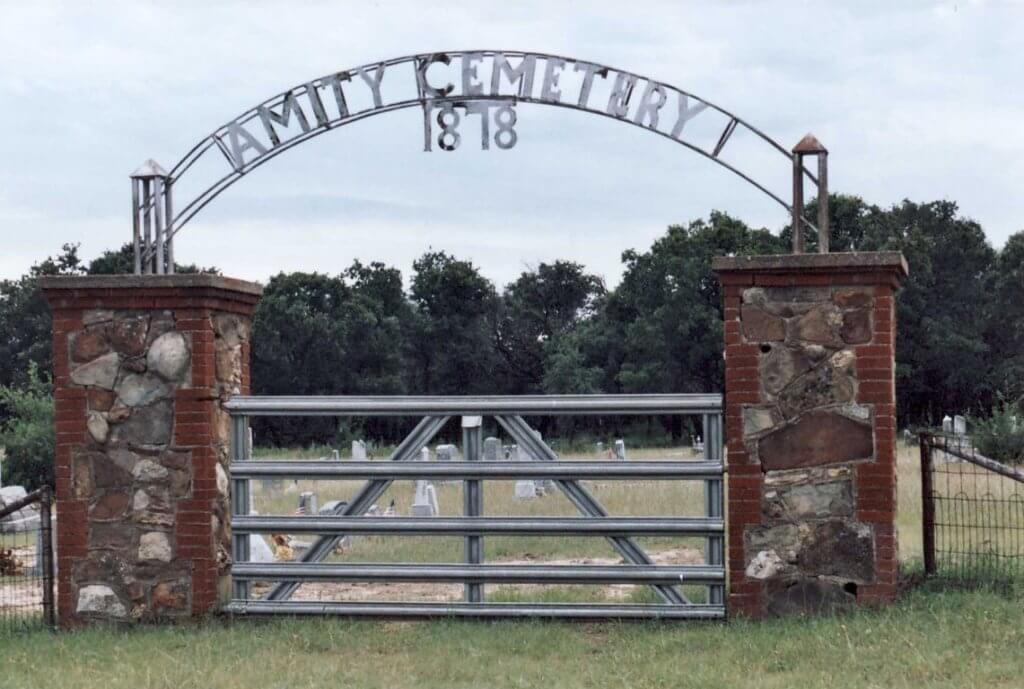 Amity Cemetery, Amity, Comanche County, Texas