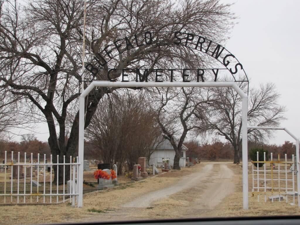 Buffalo Springs Cemetery, Clay County, Texas