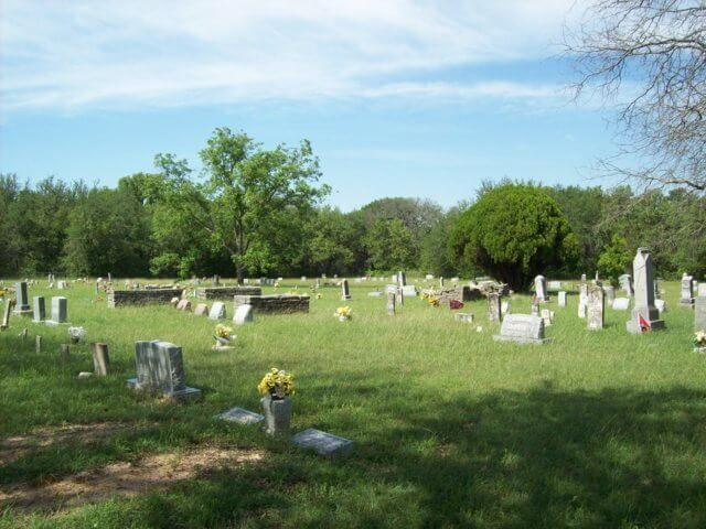 Indian Creek Cemetery, Stephenville, Erath County, Texas