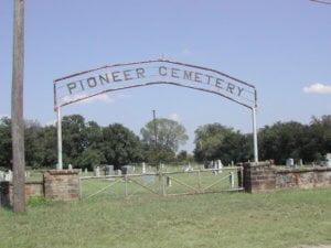 Pioneer Cemetery, Ranger, Eastland County, Texas