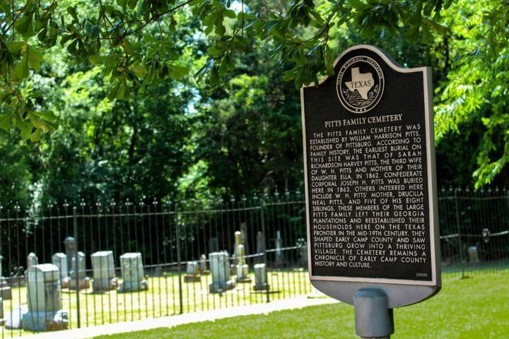 Pitts Family Cemetery, Pittsville, Texas