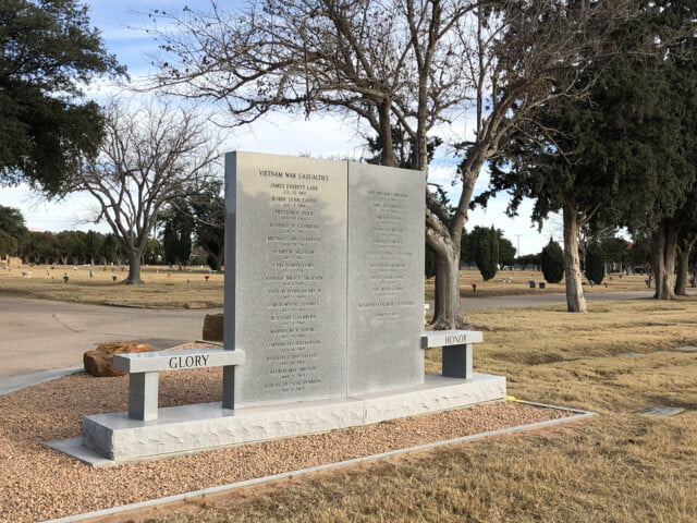 Sunset Memorial Gardens, Odessa, Ector County, Texas