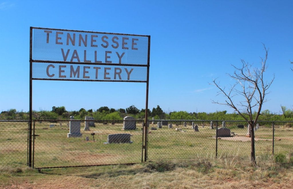 Tennessee Valley Cemetery, Cottle County, Texas