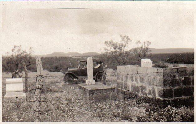 Weathers Cemetery, Coke County, Texas