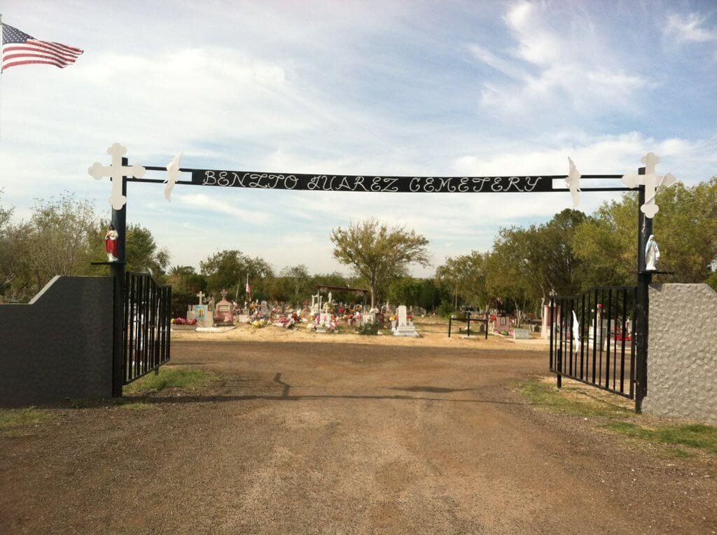 Benito Juarez Cemetery, Crystal City, Zavala, Texas