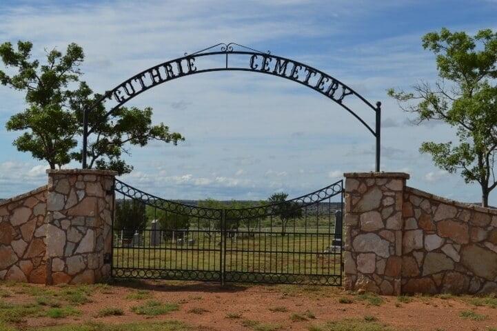 Guthrie Cemetery, King County, Texas