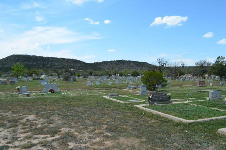 Junction Cemetery, Junction, Kimble County, Texas