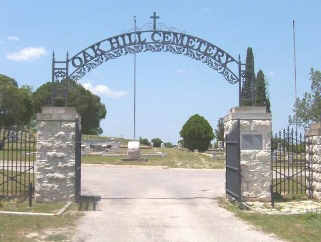Oak Hill Cemetery, Lampasas, Lampasas County, Texas