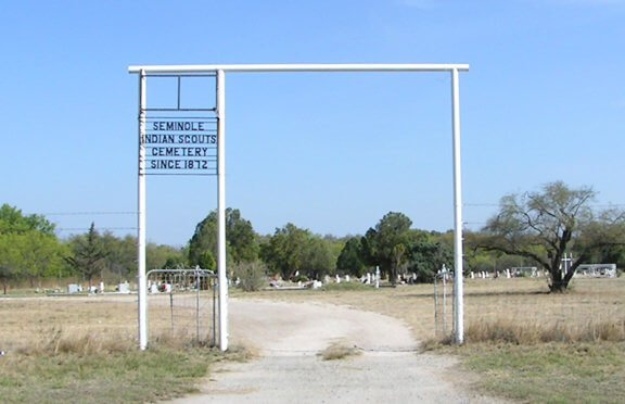 Seminole Indian Scouts Cemetery, Kinney County, Texas