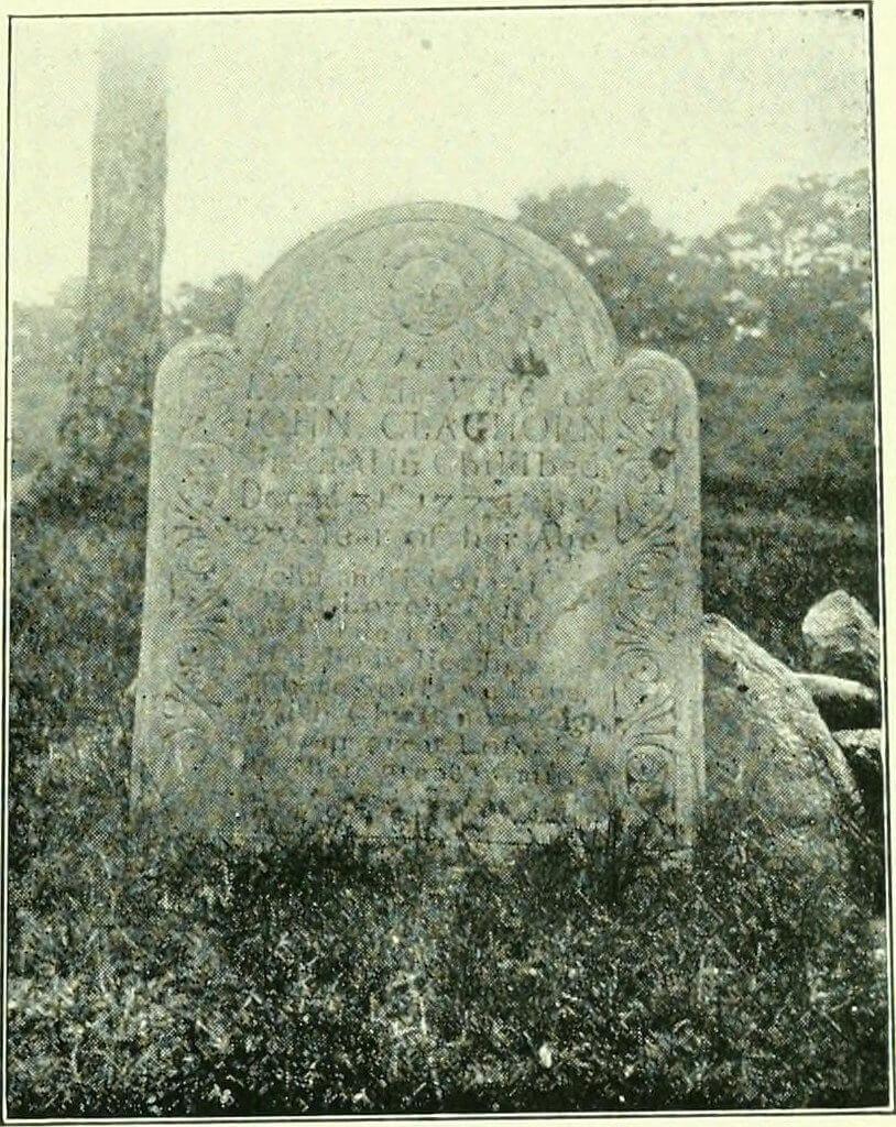 Gravestone of Lydia Claghorn, 1747-1770, Oak Grove Cemetery, Tisbury, MA