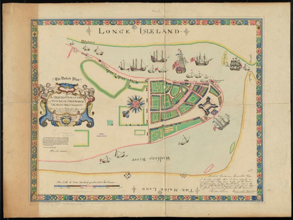 1665 A description of the towne of Mannados or New Amsterdam