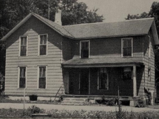 Home of Franklin and Mary Noyes Rowe 1887-1905